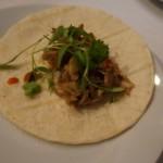 Chef John Carlos Kuramoto of Michael's Santa Monica created delicious banh mi tacos