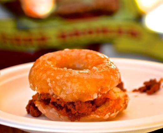 Krispy Kreme Sloppy Joe  (Eddie Lin)
