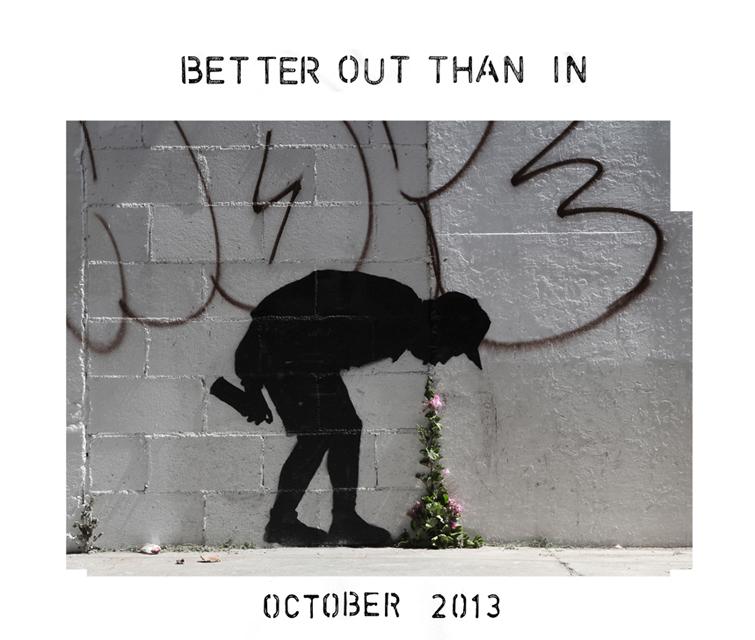 Photo via Banksy's website: http://www.banksy.co.uk/