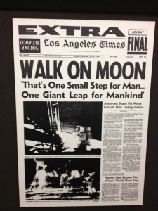 Front page from 1969 (photo by Nikki Kreuzer)