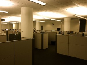 The L.A. Times Editorial Newsroom (photo by Nikki Kreuzer)