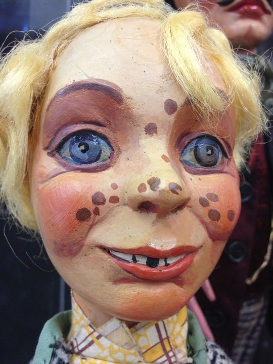 A Close-up of one of the museums amazing puppets (photo by Nikki Kreuzer)