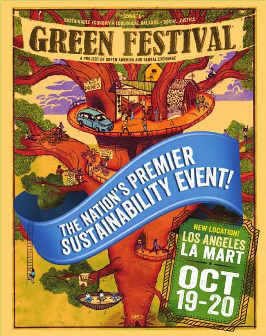 Los Angeles Green Festival this weekend