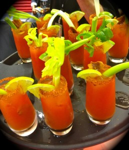 The yummy Creole Bloody Marys (photo by Nikki Kreuzer)