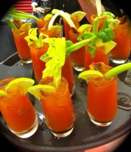 The yummy Creole Bloody Marys (photo by Nikki Kreuzer)