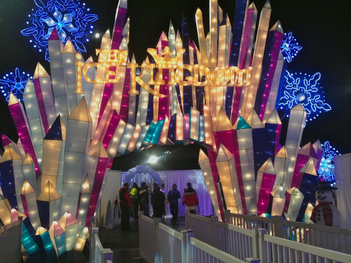The Ice Kingdom at The queen Mary (photo by Nikki Kreuzer)