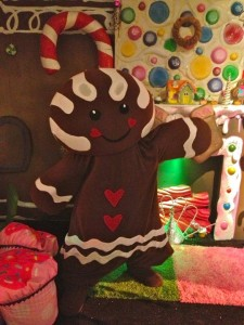 A friendly gingerbread person (photo by Nikki Kreuzer)