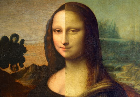 Mona Lisa_Comparison
