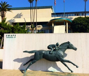 Hollywood Park Racetrack held its final race on December 22, 2013 (photo by Nikki Kreuzer)