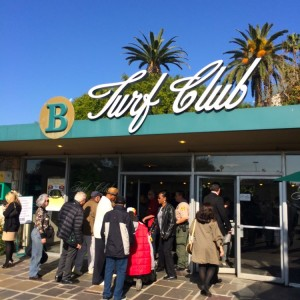 The Turf Club at Hollywood Park provided a classy, dress-code only dinner club to members only (photo by Nikki Kreuzer)