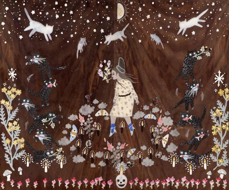 """""""Catnip Seance"""" by Rebecca Urias"""