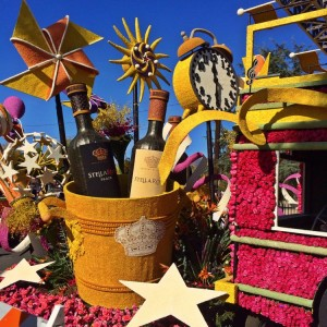 The Stella Rosa wine float (photo by Nikki kreuzer)
