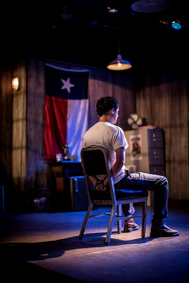 Andy Hirsch as Lee Harvey Oswald, Photo Courtesy of Nathan Haugaard
