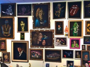 The Wall of Velvet Rockstars (photo buy Nikki Kreuzer)