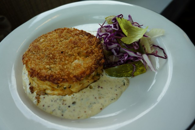 Fishing with Dynamite's Crab Cake