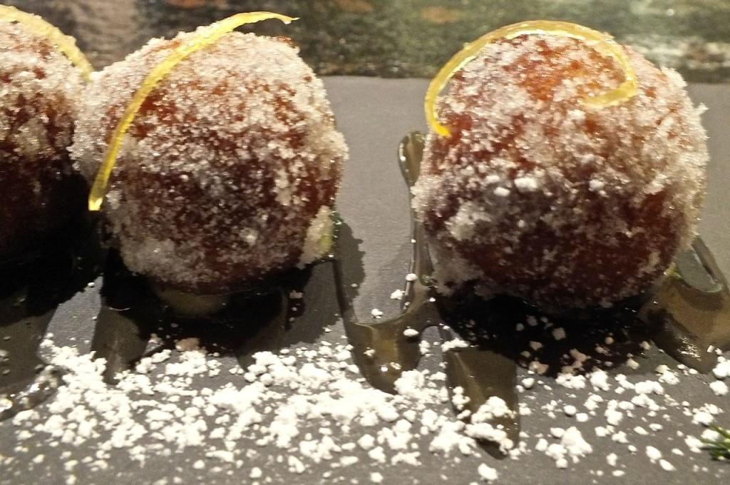 Tasty Lemon Ricotta Fritters are a must for dessert