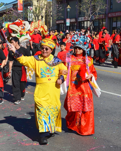 L.A. Chinese New Year's Day Parade Celebrating the Year of the Horse: Gung Hay Fat Choy!