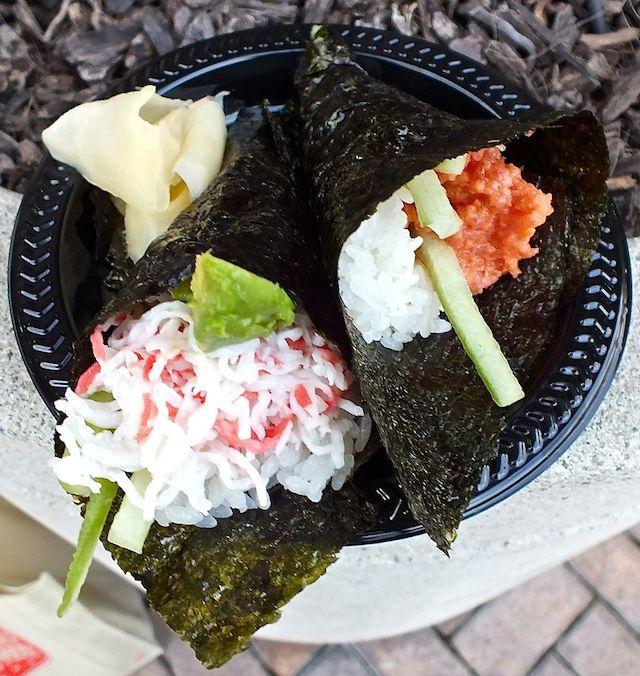 Kabuki Crab And Tuna Rolls Copy The LA Beat