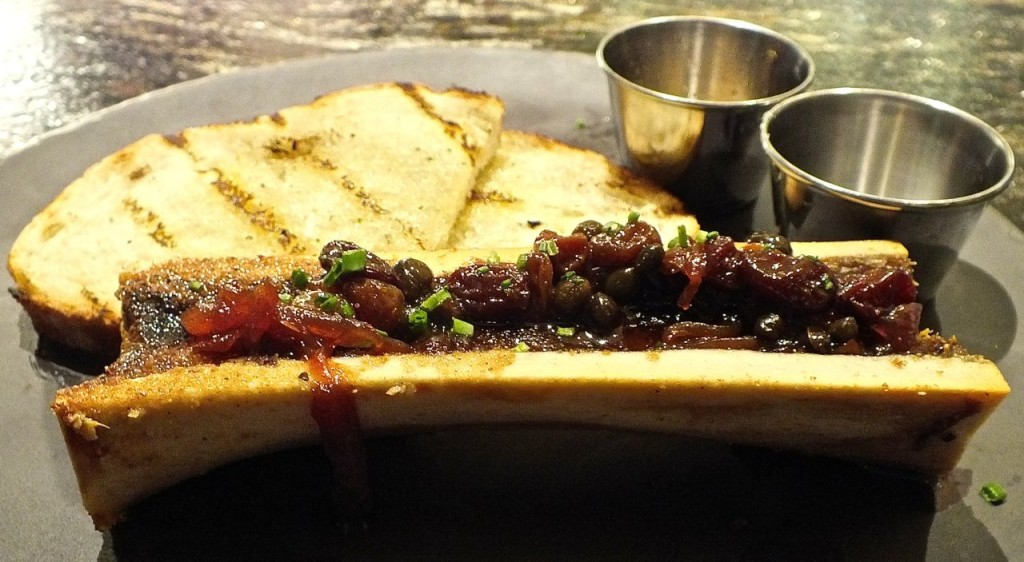 "Bone marrow, ""beef butter"""
