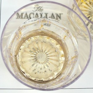 A wee bit of some MacCallan Scotch is good for a midafternoon tasting