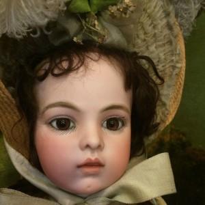 Doll face close-up (photo by Nikki Kreuzer)