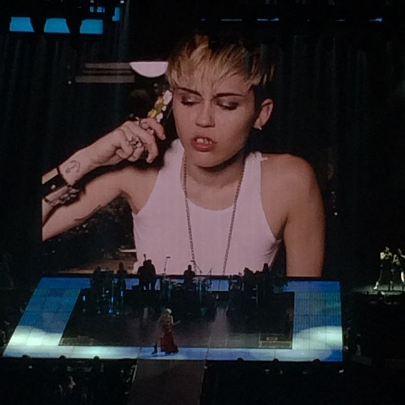 Miley Cyrus Bangerz 2014 Tour