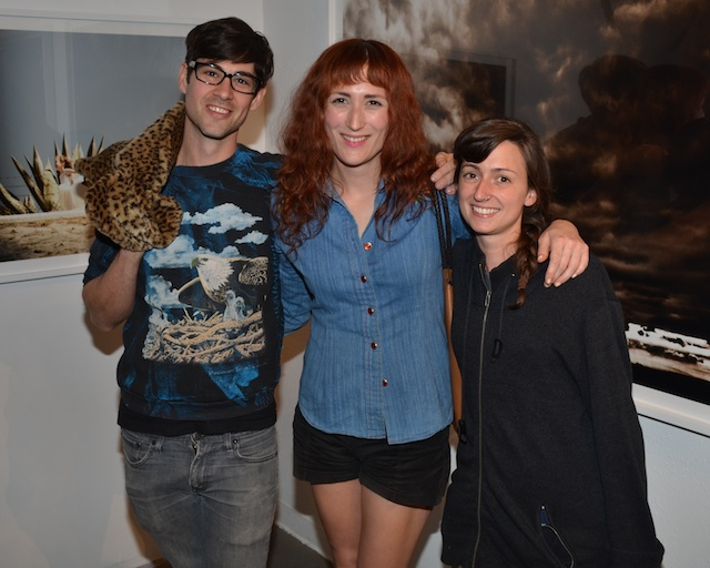 Sebastian Peters-Lazaro, Jesse Rasmussen and Lisa Salvo