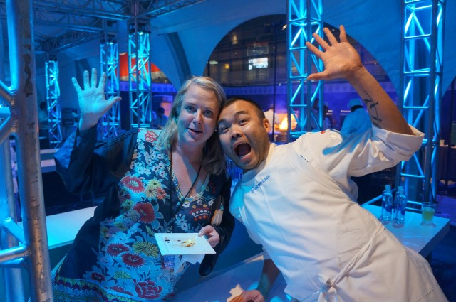 Nancy Oakes and Paul Qui