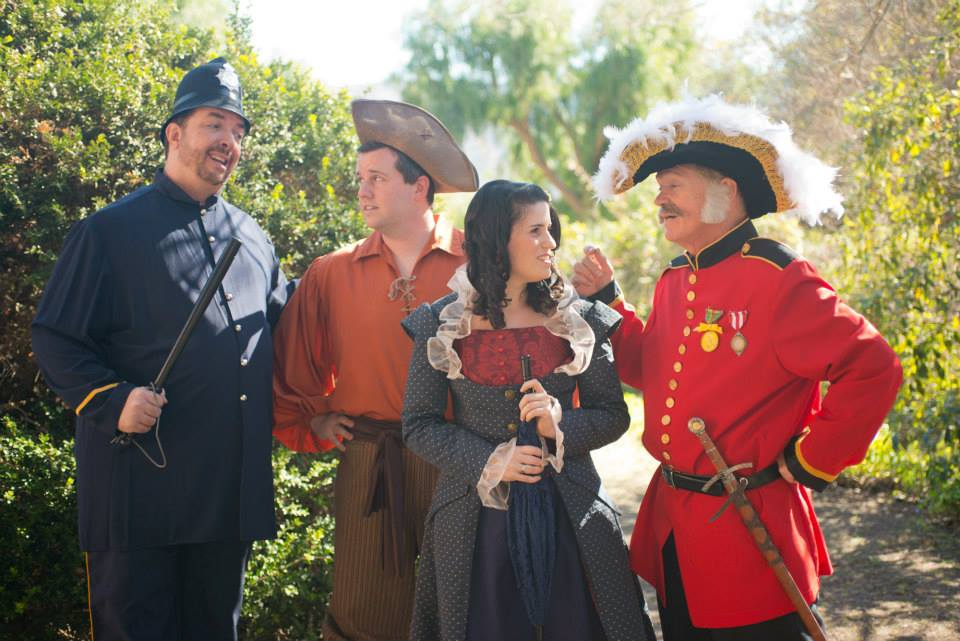 The Pirates of Penzance opens Friday, March 7, presented by the Ventura County Gilbert and Sullivan Repertoire Company in Thousand Oaks.