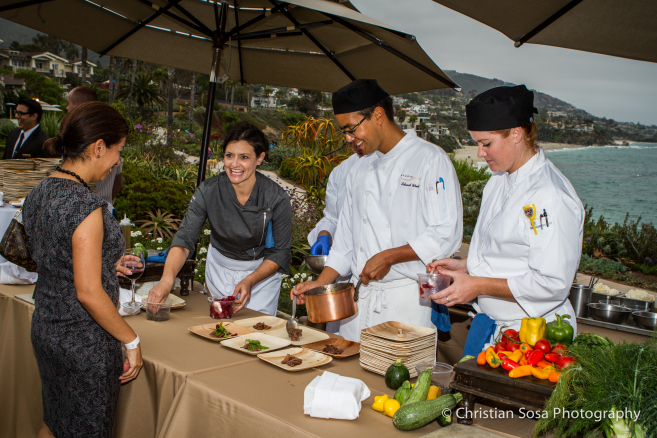 Taste of the Nation Laguna Beach will be held on the bluffs overlooking the Pacific Ocean. Picture courtesy of Christine Sosa Photography with permission of Taste of the Nation Laguna Beach