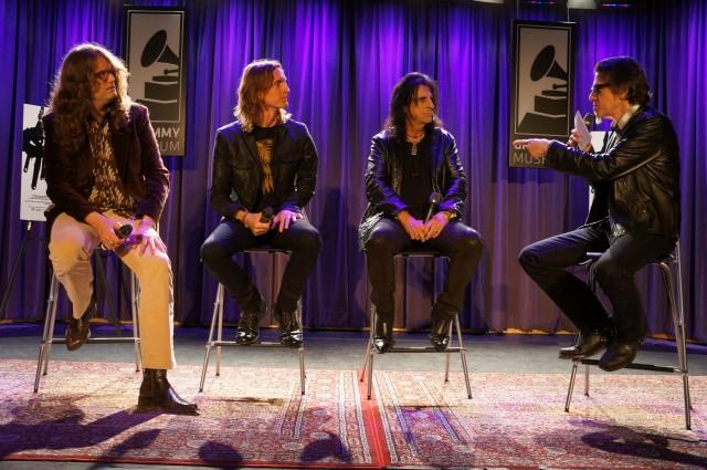 Alice Cooper, Scot McFadyen, Sam Dunn and Scott Goldman
