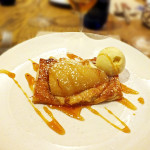 Almond Pear Tart. Photo by Ed Simon for The Los Angeles Beat