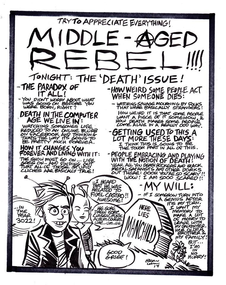 middle aged rebel