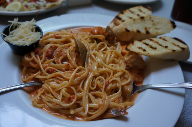 Lobster Trap Seafood Pasta