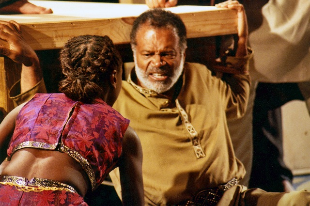 Ted Lange in King Lear--Photo Courtesy of Ted Lange's Personal Collection