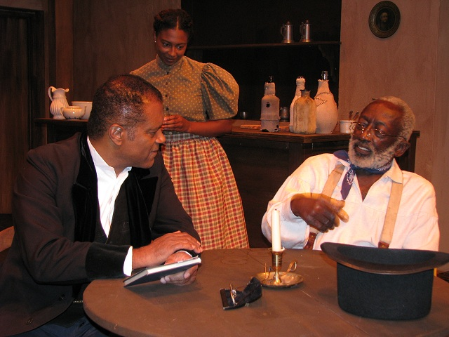 "Ted Lange in ""Let Freedom Ring"" with Garrett Morris--Photo Courtesy of Ted Lange's Personal Collection"