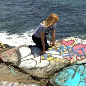The author at Sunken City (photo by Thomas Kreuzer)