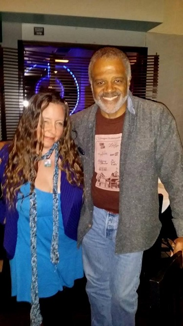 Ted Lange Interview at Kate Mantilini--Photo by Jennifer K. Hugus for the Los Angeles Beat