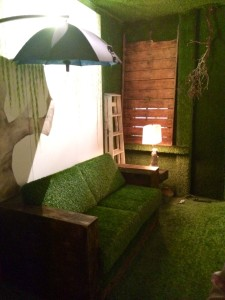 The Green Room at The Lyric THeatre (photo by Nikki Kreuzer)