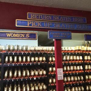Skate rental (photo by Nikki Kreuzer)