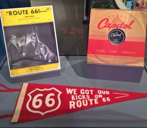 """Route 66"" was written by Bobby Troup in 1949 and recorded by Nat King Cole the same year. (photo by Nikki Kreuzer)"