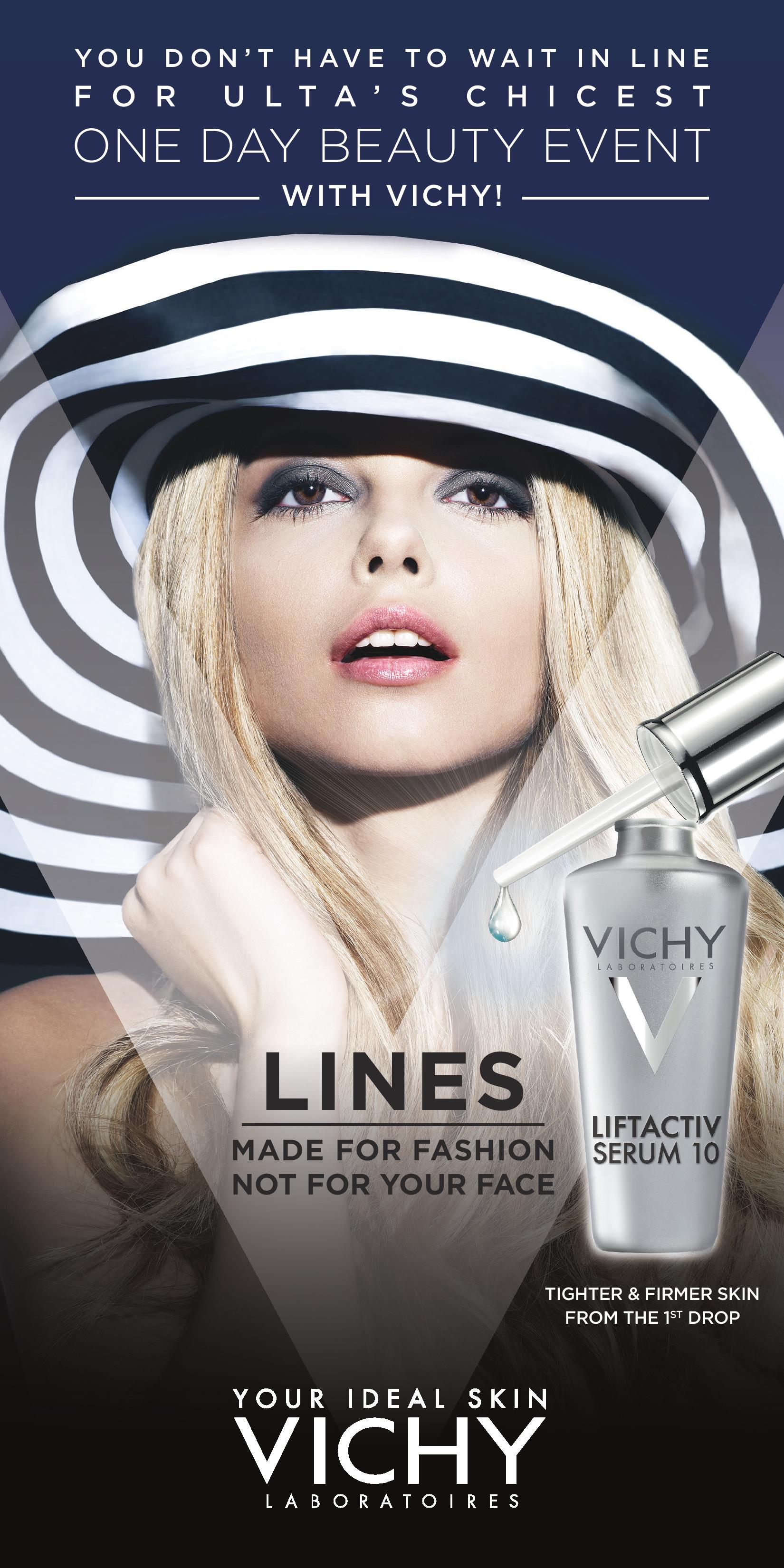 Vichy at Ulta: Saturday