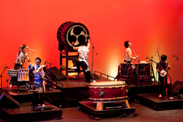 Sen-Rai at Taiko Nation 2014. Photo by Kim Nakashima, used by permission.