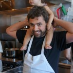 Petit Trois  Jon Shook and the littlest sous chef