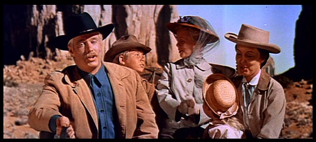 """Stan Livingston in """"How the West was Won"""" Photo Courtesy of Stan Livingston's Personal Collection"""