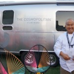 Akira Hirose at the Cosmopolitan's Airstream