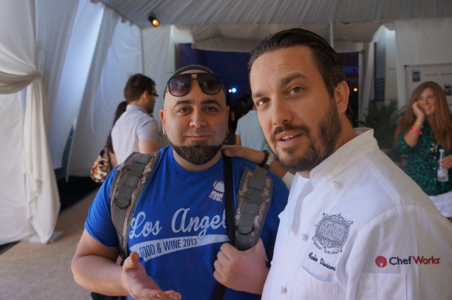 Duff Goldman and Fabio Viviani ALFW 2012