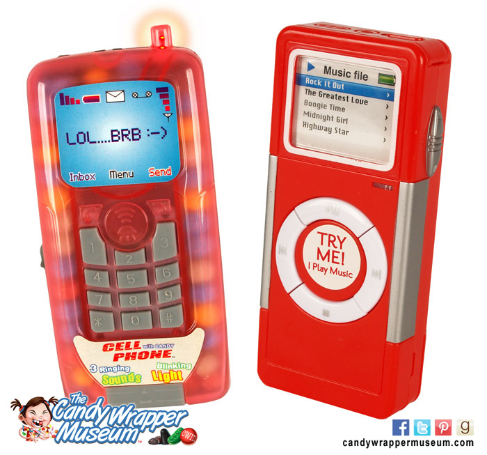 Candy Cell Phone and MP3 Player
