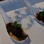 Braised Veal Cheeks with Black Truffle Polenta from Chef Mark Mollica of La Vecchia Cucina