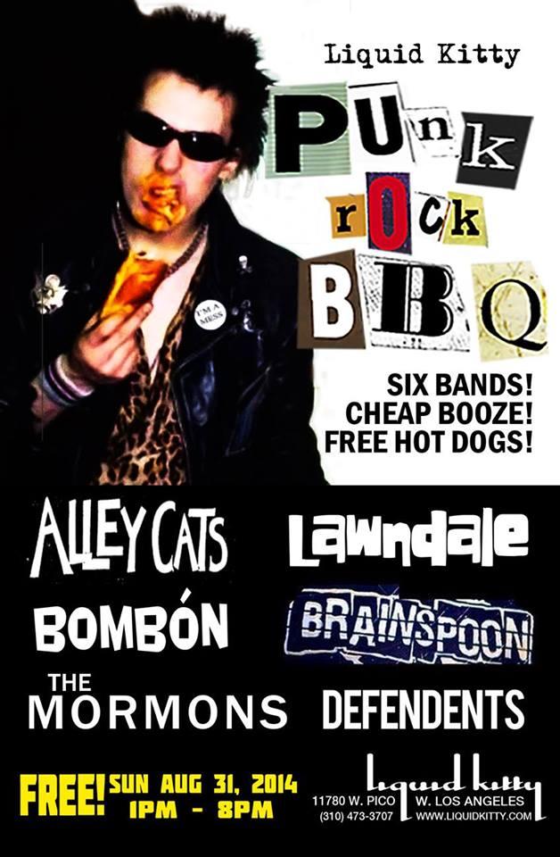 Liquid Kitty Punk Rock BBQ Labor Day Weekend